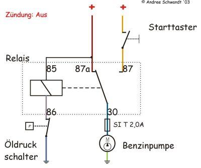 Notabschaltung Pierburg Pumpe