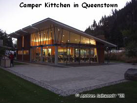 Camper Kittchen in Queenstown