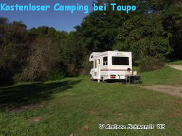 Camping in Taupo